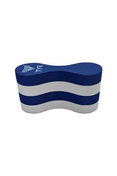 TYR JUNIOR PULL FLOAT BLUE & WHITE <br> TLJPF