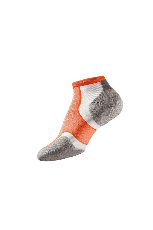 THORLO ELECTRIC ORANGE MICRO MINI SOCKS <br> ELECTRIC ORANGE