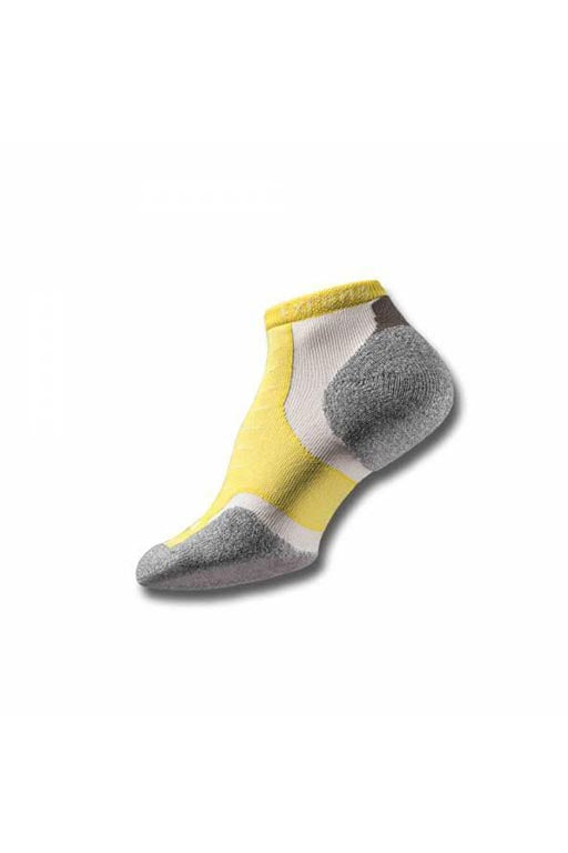 THORLO BUTTERCUP MICRO MINI SOCKS <br> BUTTERCUP