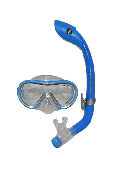 US DIVERS SPLASH MASK AND SNORKEL SET JUNIOR <br> 242255