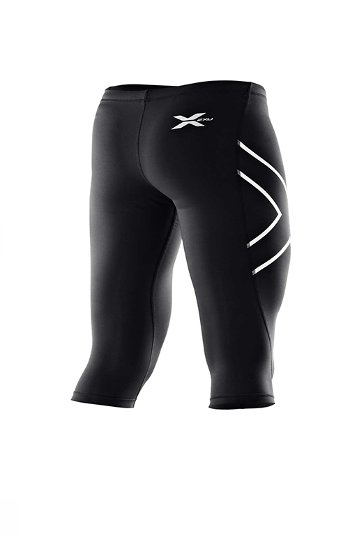 2XU WOMENS COMPRESSION 3/4 TIGHT (WA1943b-BLKBLK)