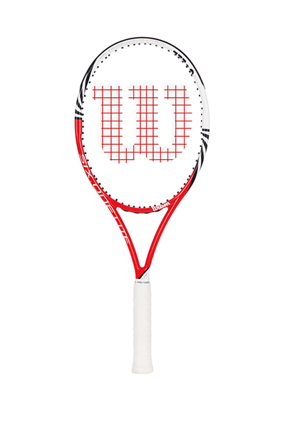WILSON SIX ONE COMP RACQUET <br> WRT3274003,- Jim Kidd Sports