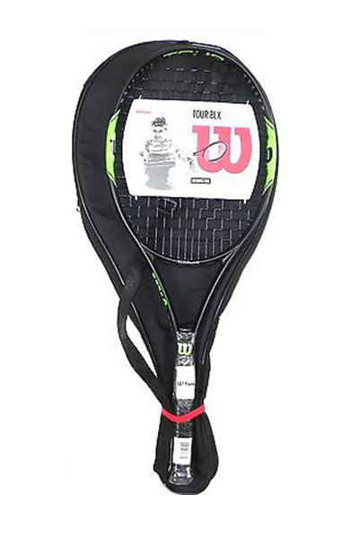 WILSON TOUR BLX 103 TENNIS RACQUET WITH FREE VIBRATION DAMPENER, OVERGRIP AND RACQUET CASE <br> WRT574000
