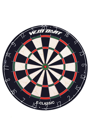 WINMAX ROUND WIRE DARTBOARD <br> 601000 1,- Jim Kidd Sports