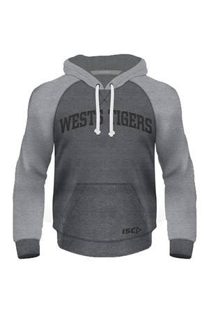 ISC WESTS TIGERS FLEECE HOODIE MENS <br> WT16HDL1A,- Jim Kidd Sports