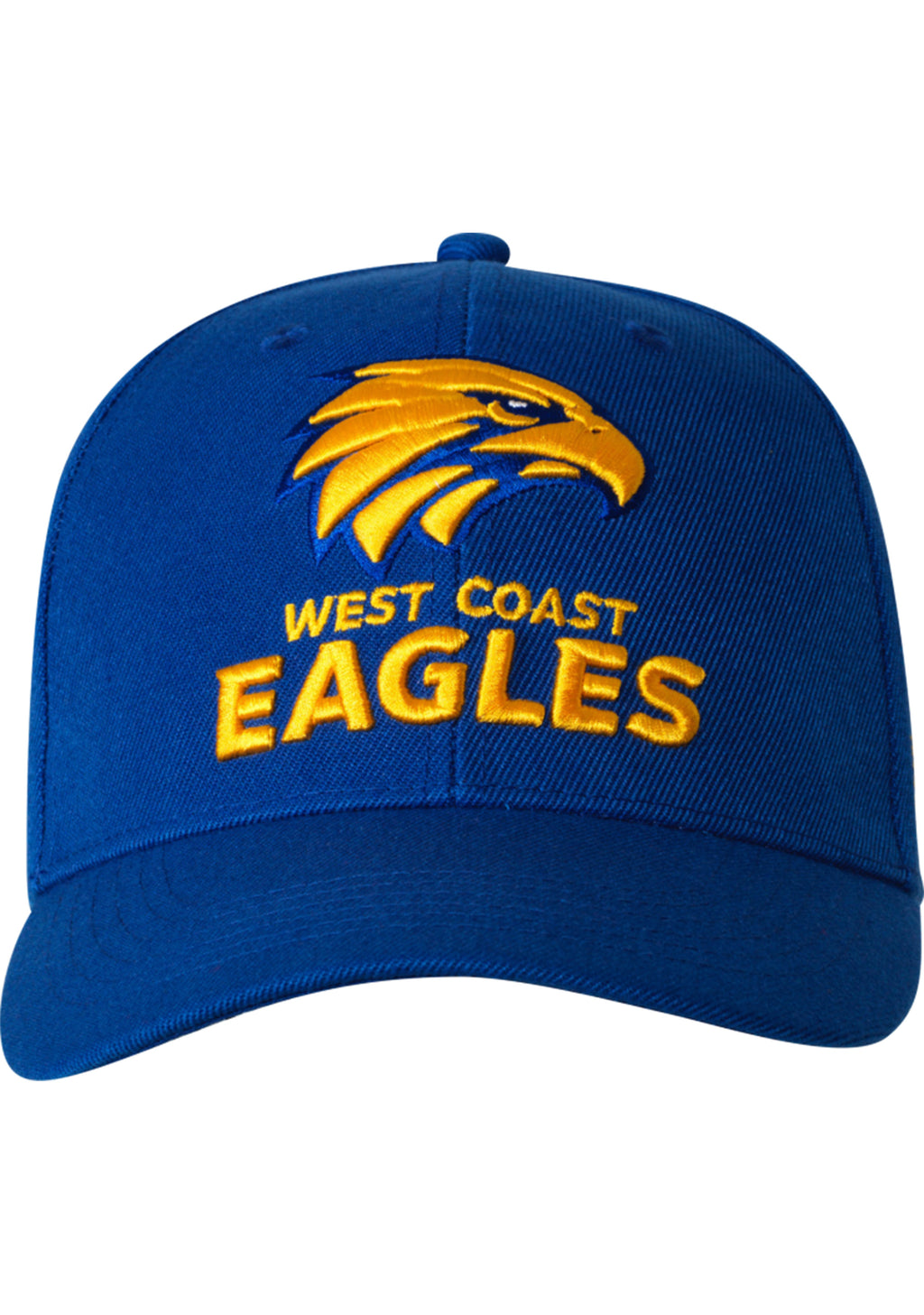 PLAYCORP WEST COAST EAGLES STAPLE CAP ADULTS <BR> AF8527