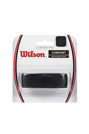 WILSON CUSHION PRO REPLACEMENT GRIP <br> WRZ4209 BK