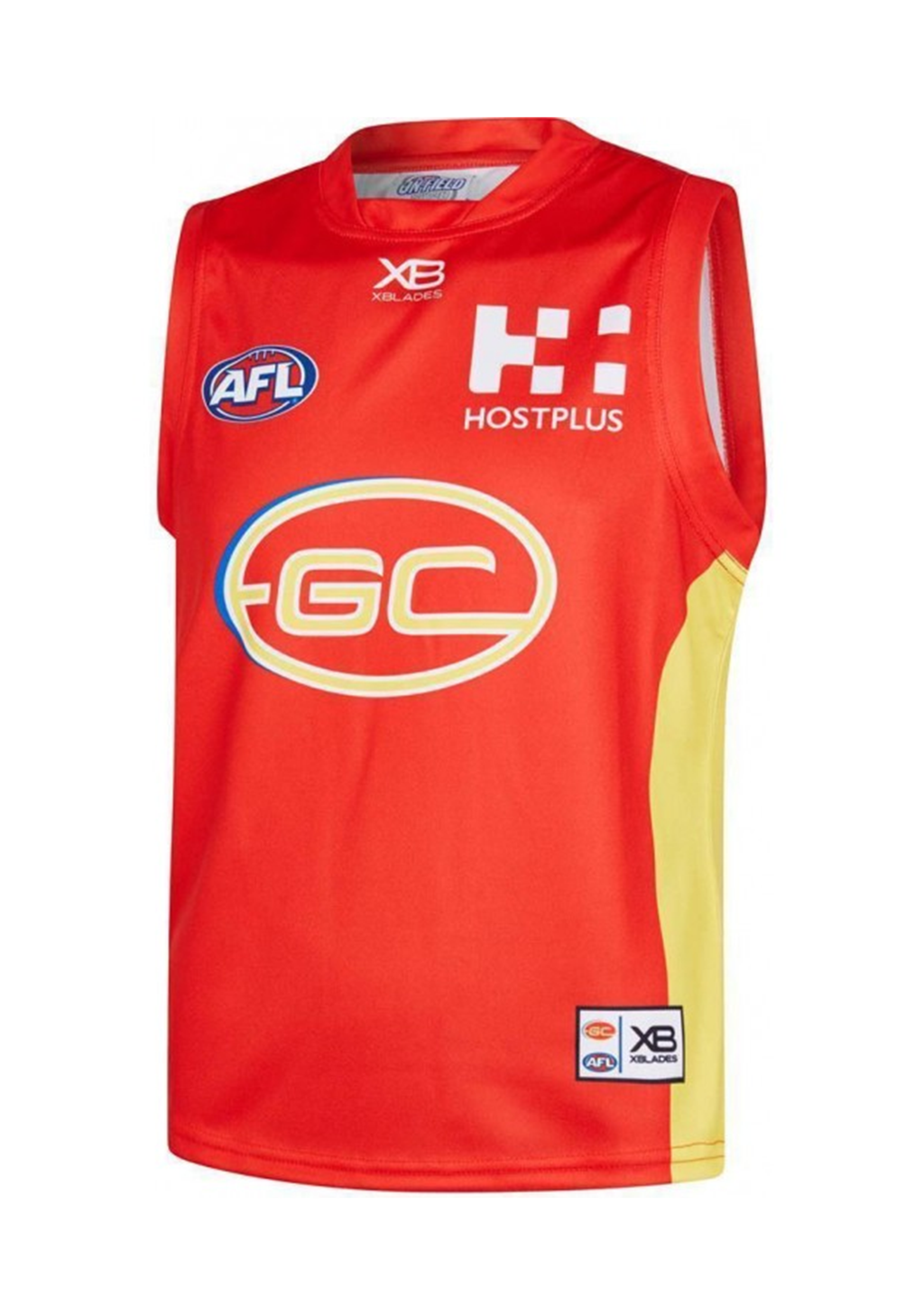 XBLADES GOLD COAST SUNS REPLICA HOME GUERNSEY MENS <br> GC18