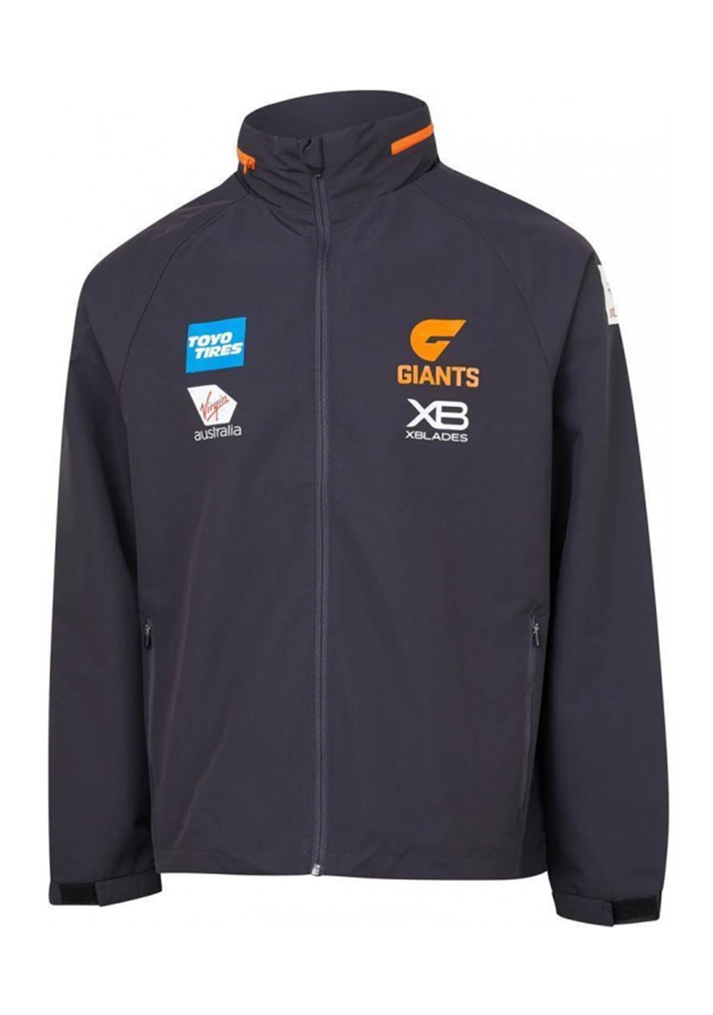 XBLADES GWS GIANTS 2019 WET WEATHER JACKET MENS <br>  GWSWWJL19M