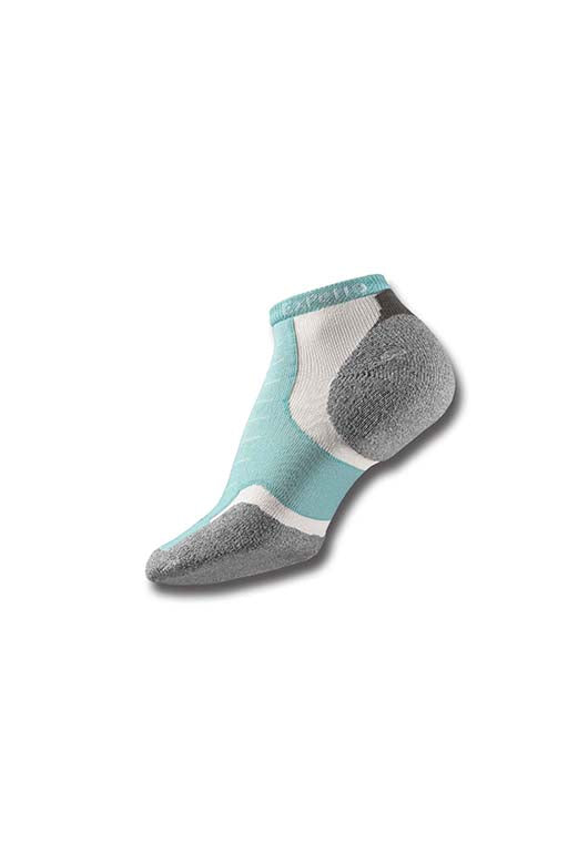 THORLO SPEARMINT MICRO MINI SOCKS <br> SPEARMINT