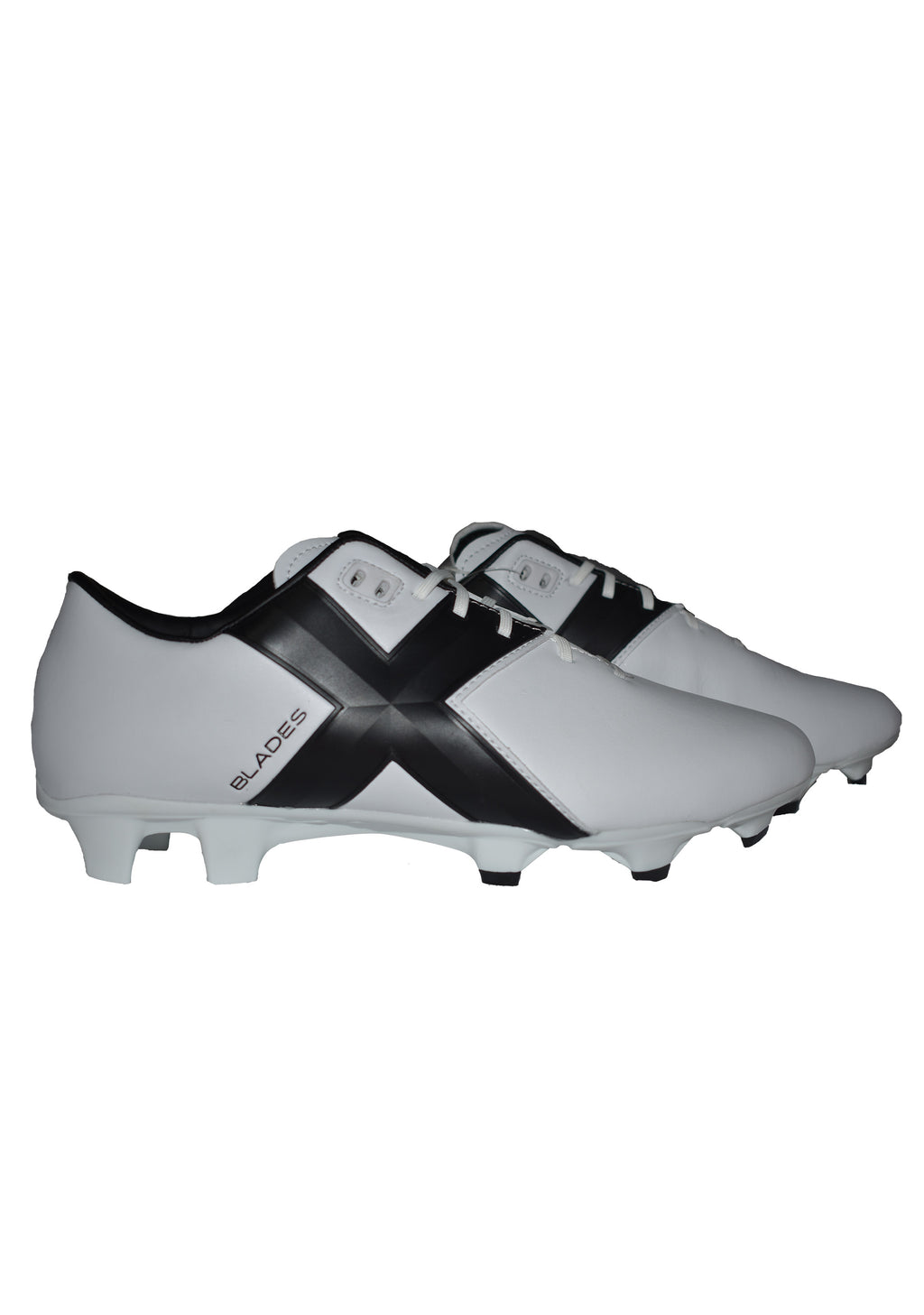 XBLADES JET 17 FOOTBALL BOOTS MENS <br> WHITE/BLACK