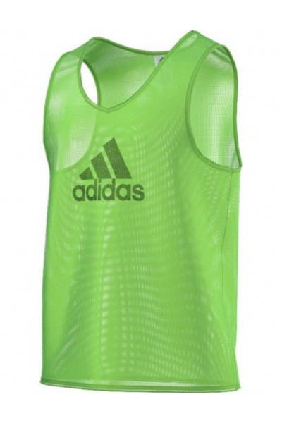 ADIDAS TRAINING BIB 14 VIVID GREEN <br> F82135