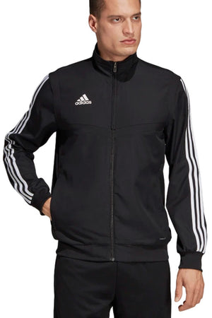 adidas Australia Men's Tiro 19 Presentation Jacket, Black