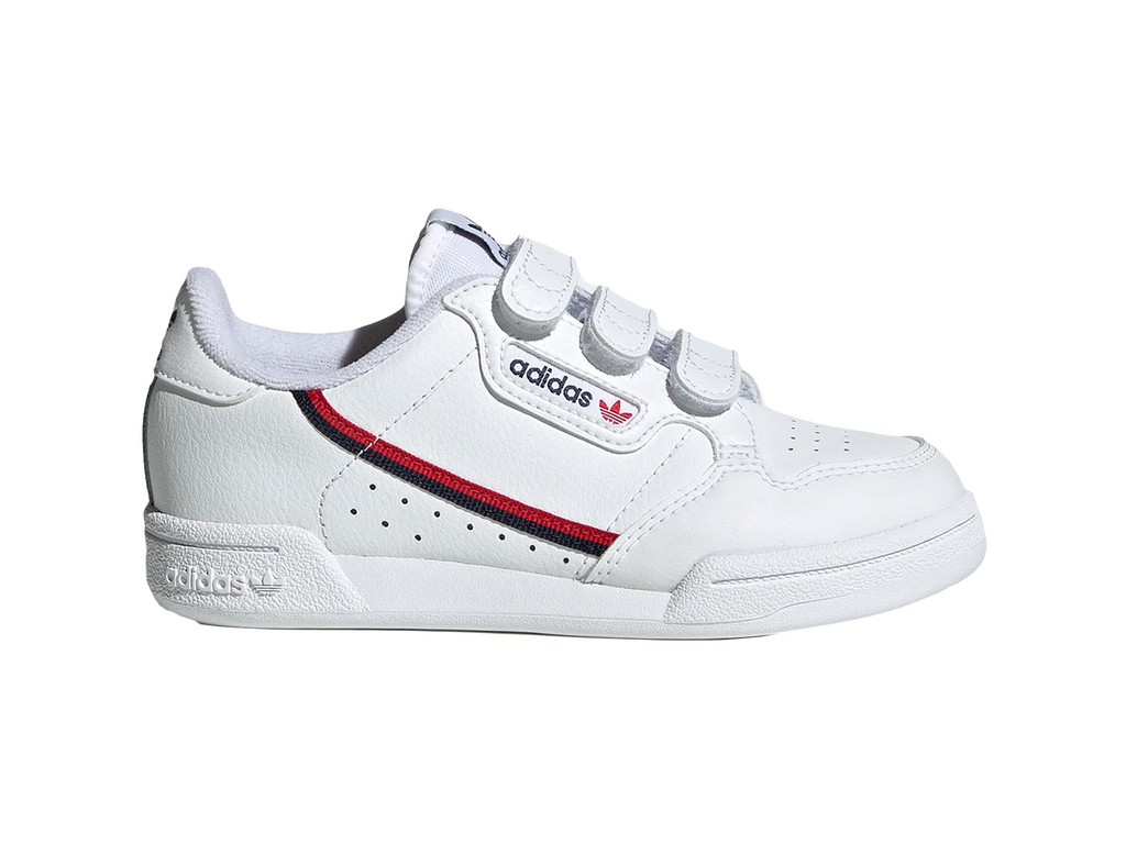 ADIDAS JUNIOR CONTINENTAL 80 SHOES <br> EH3222
