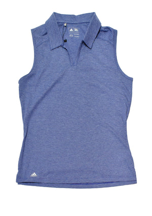 ADIDAS WOMENS SLEEVELESS POLO <br> BC7420