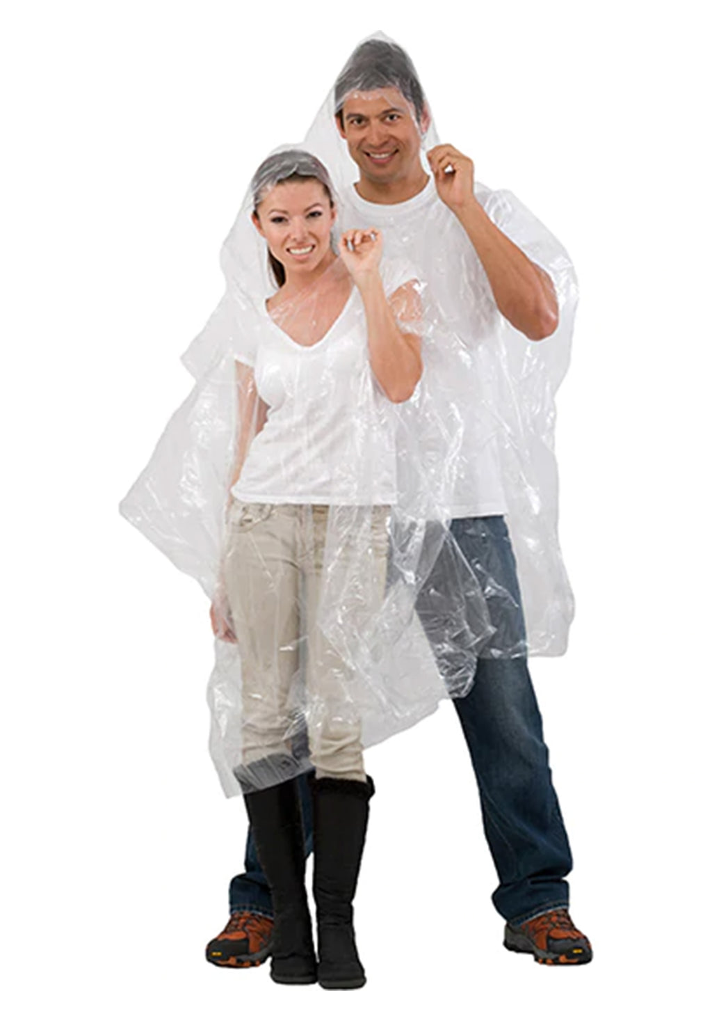 EMERGENCY CLEAR PONCHO ADULTS