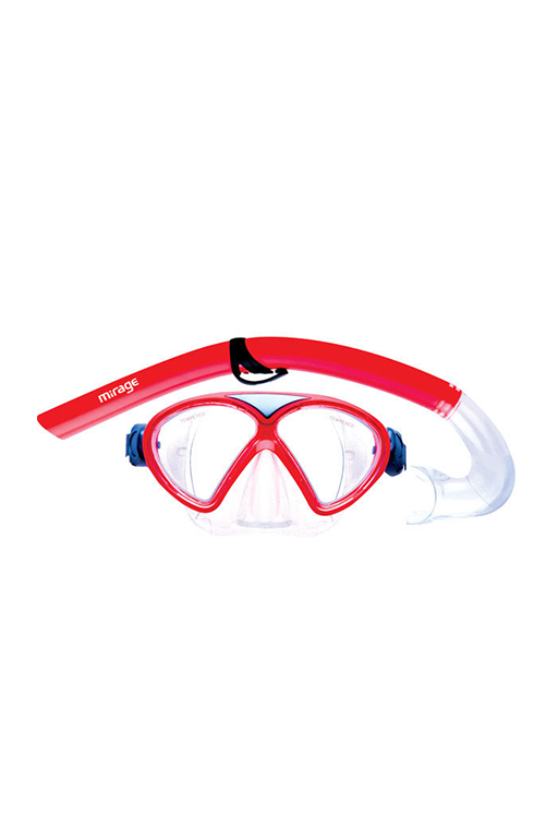 MIRAGE JUNIOR COMET MASK & SNORKEL SET <br> SET-05,- Jim Kidd Sports
