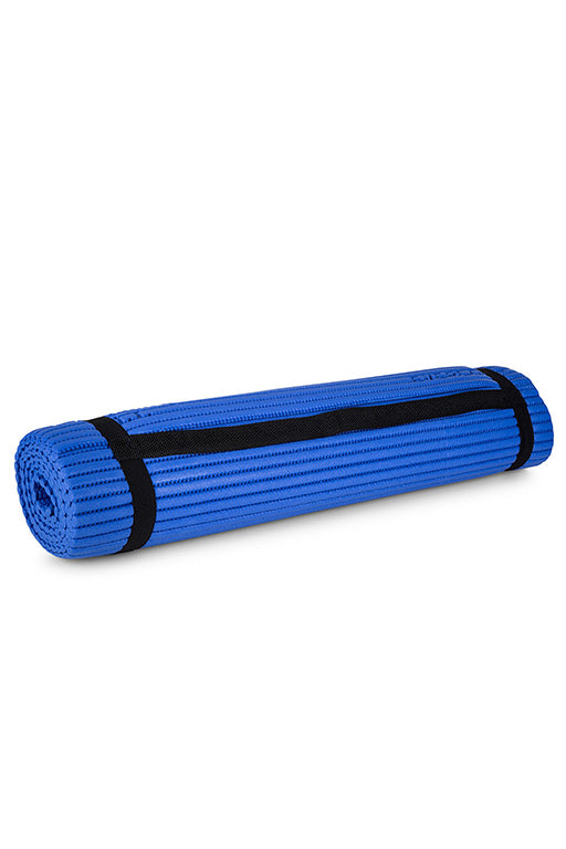 EVERLAST EVERCOOL EXERCISE MAT WITH FREE RUSSELL ATHLETIC 1L WATER BOTTLE <br> 141007BLUE,- Jim Kidd Sports