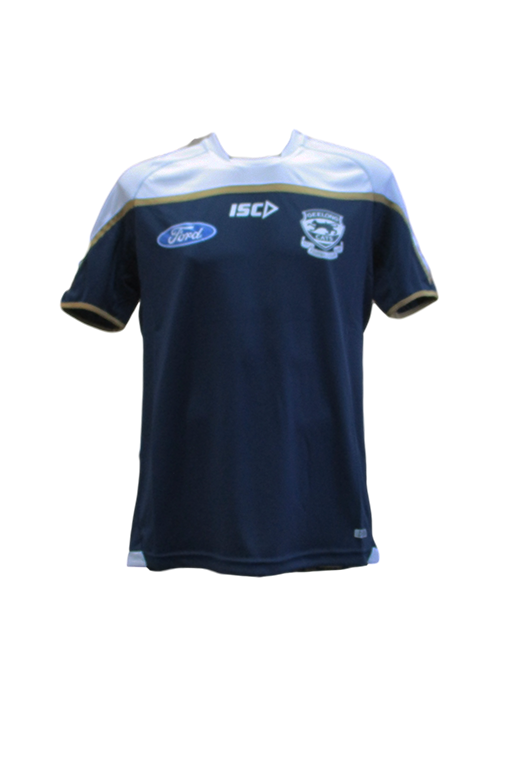 ISC GEELONG CATS TRAINING TEE NAVY MENS <br> 7GC5TSH1A,- Jim Kidd Sports