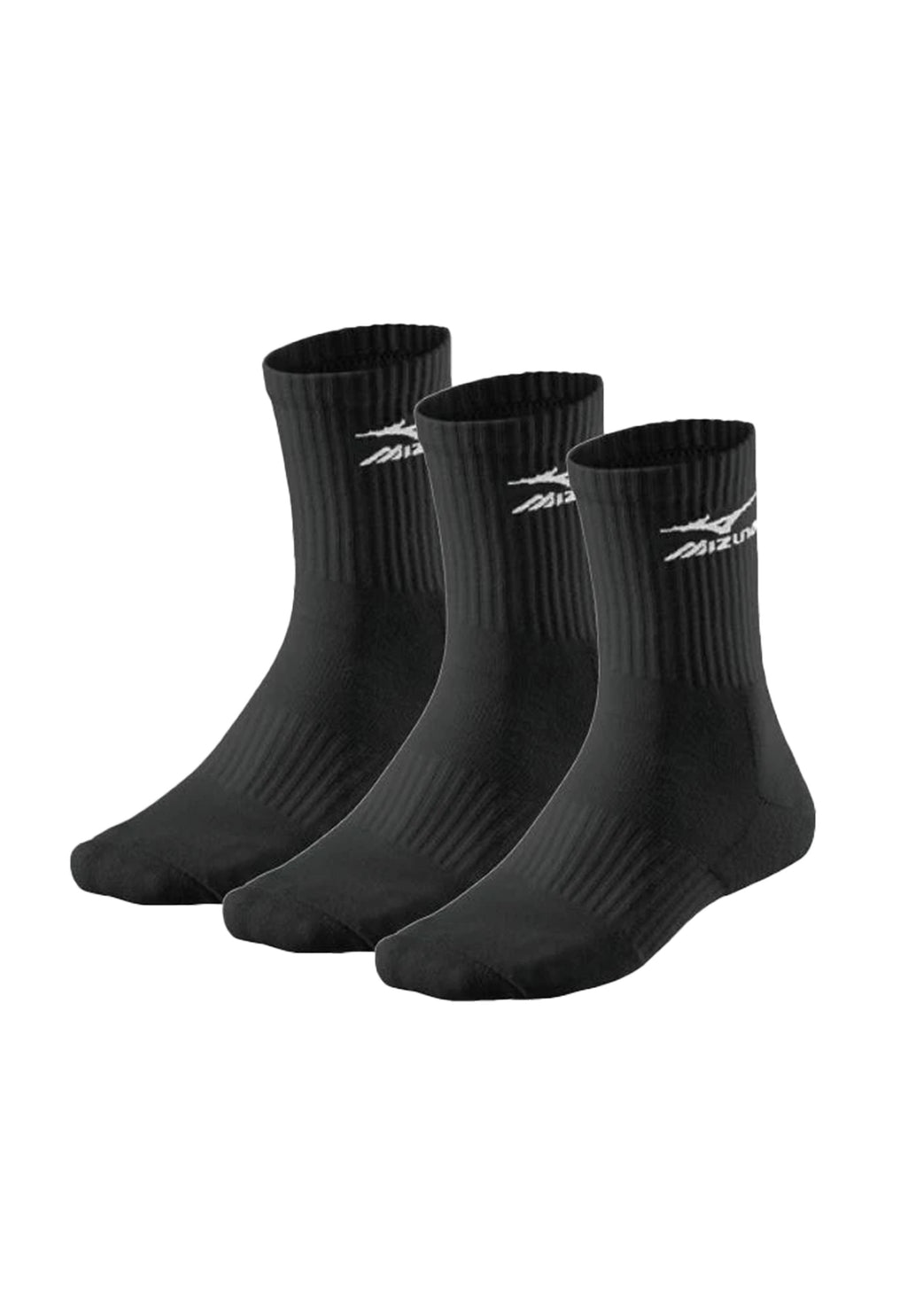 MIZUNO TRAINING CREW SOCKS 3 PACK <BR> 32GX6A54Z
