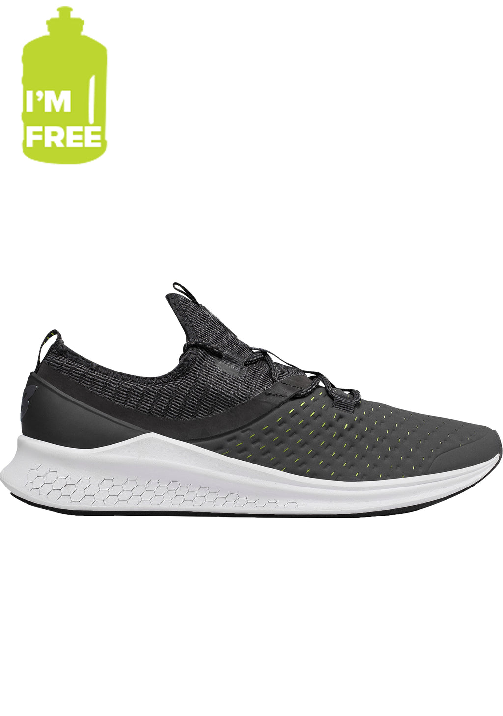 NEW BALANCE MENS FRESH FOAM LAZR WITH FREE 2L WATER BOTTLE <BR> MLAZRHY