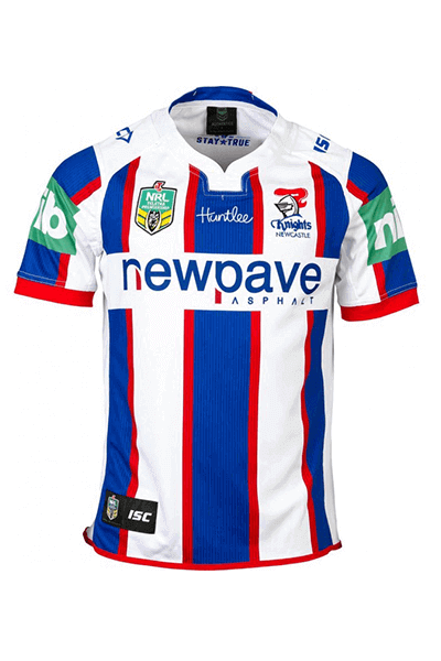 ISC NEWCASTLE KNIGHTS AWAY JERSEY MENS <br> NK16AJS1A