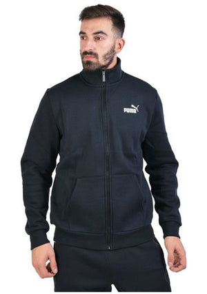 PUMA ESS TRACK JACKET FLEECE MENS <br> 853360 01