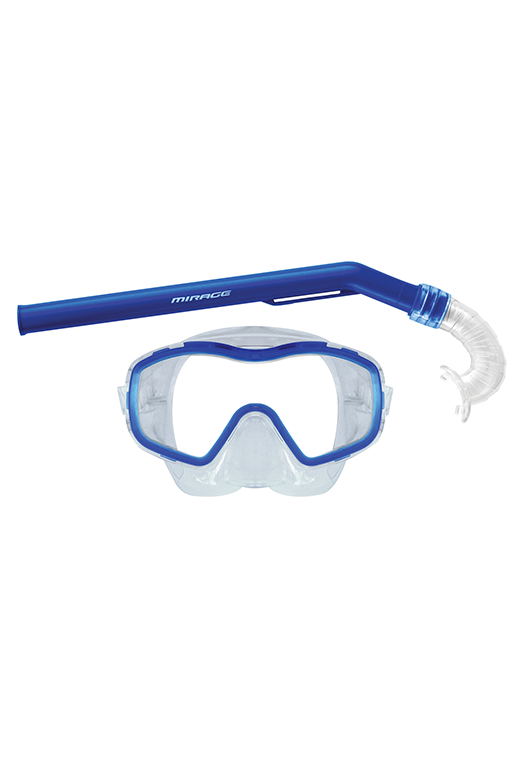 MIRAGE JUNIOR SHRIMP MASK & SNORKEL SET (SHRIMP)