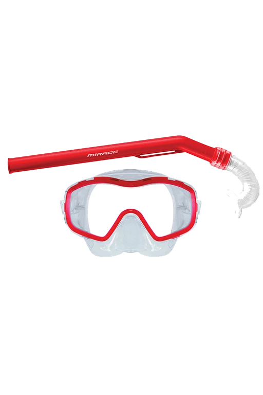 MIRAGE JUNIOR SHRIMP MASK & SNORKEL SET <br> SHRIMP