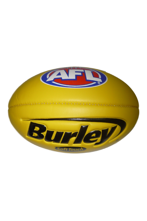 BURLEY SOFT TOUCH FOOTBALL YELLOW,- Jim Kidd Sports