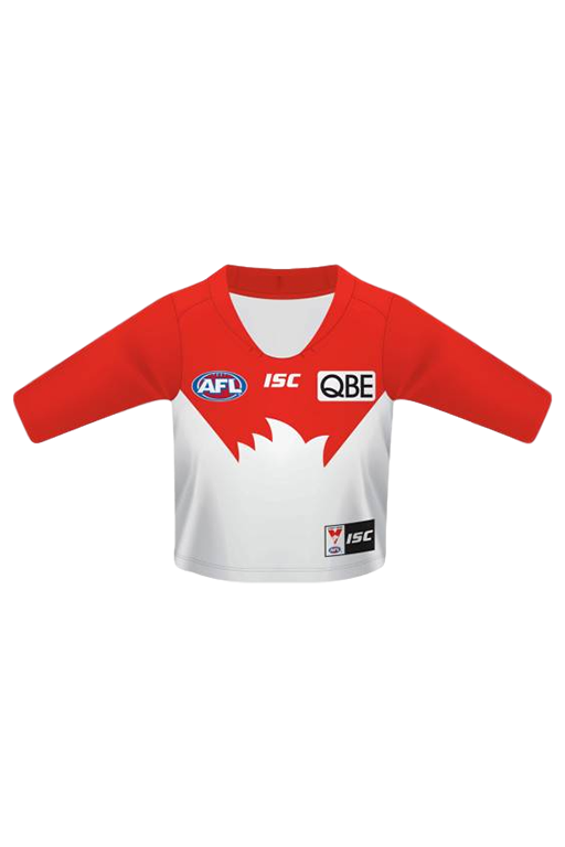 ISC SYDNEY SWANS HOME GUERNSEY  TODDLERS <br>7SW5HJS1T,- Jim Kidd Sports