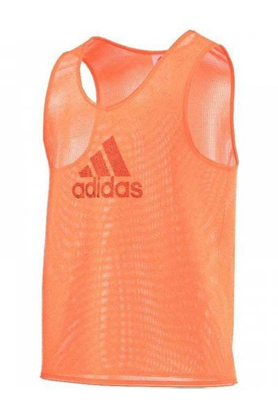 ADIDAS TRAINING BIB 14 GLOW ORANGE <br> F82133