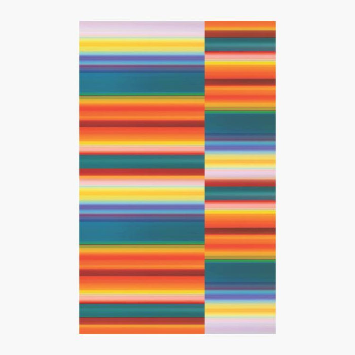 Color Landscape Beach Towel