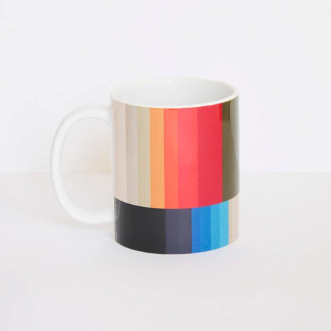 Gradient Stripes Ceramic Mug