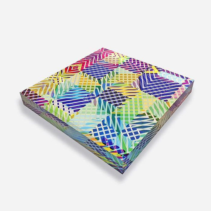 Neon Jungle Acrylic Paperweight
