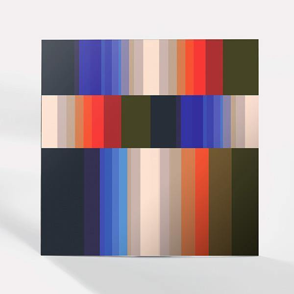 Gradient Stripes Acrylic Print