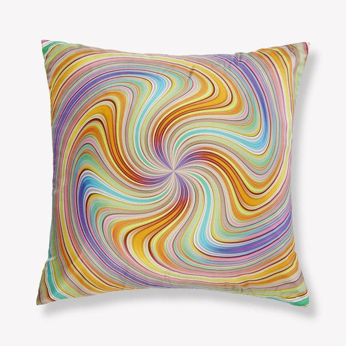 Spiral Silk Pillow