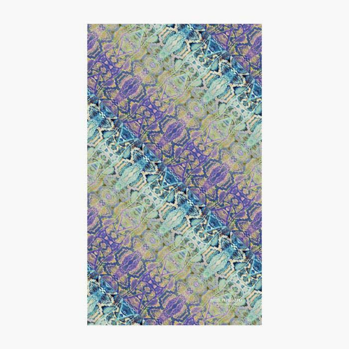 Ana Romero Collection Beach Towels Snake Skin Beach Towel