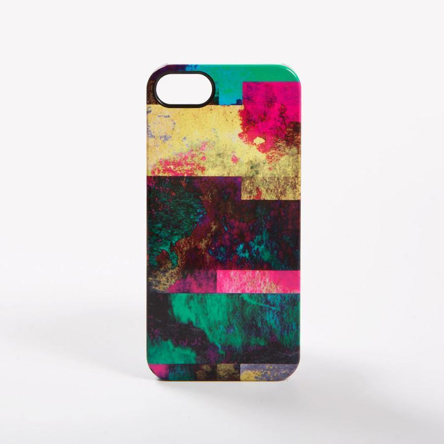 Ana Romero Collection iPhone Cases Deconstructed Plaid iPhone SE & 5/5S Case