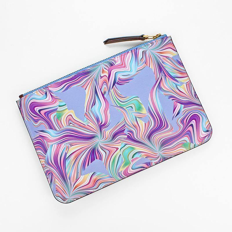 Ana Romero Collection Leather Accessories Fusion Mini Leather Clutch