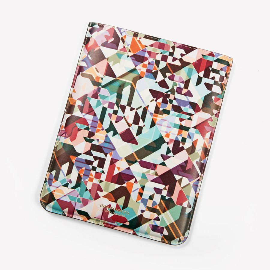 Ana Romero Collection Leather Accessories Kaleidoscope Leather Tablet Sleeve