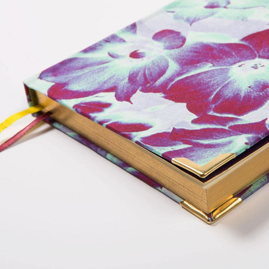 Ana Romero Collection Notebooks Magnolia A5 Silk Notebook