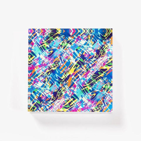 Ana Romero Collection Paperweight Camouflage Acrylic Paperweight
