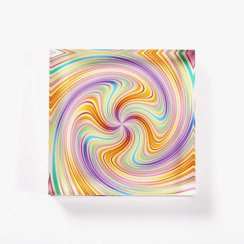 Ana Romero Collection Paperweight Spiral Acrylic Paperweight