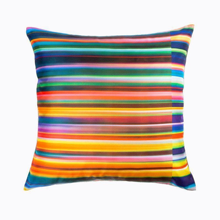 Ana Romero Collection Pillows Color Landscape Silk Pillow