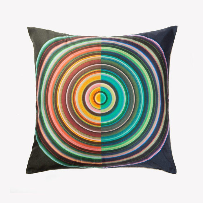 Ana Romero Collection Pillows Color Wheel II Silk Pillow