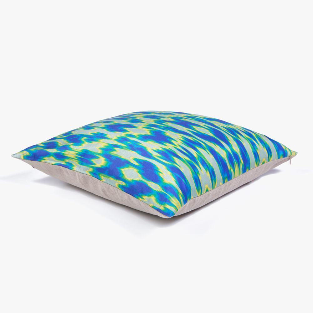 Ana Romero Collection Pillows Digital Ikat Silk Pillow