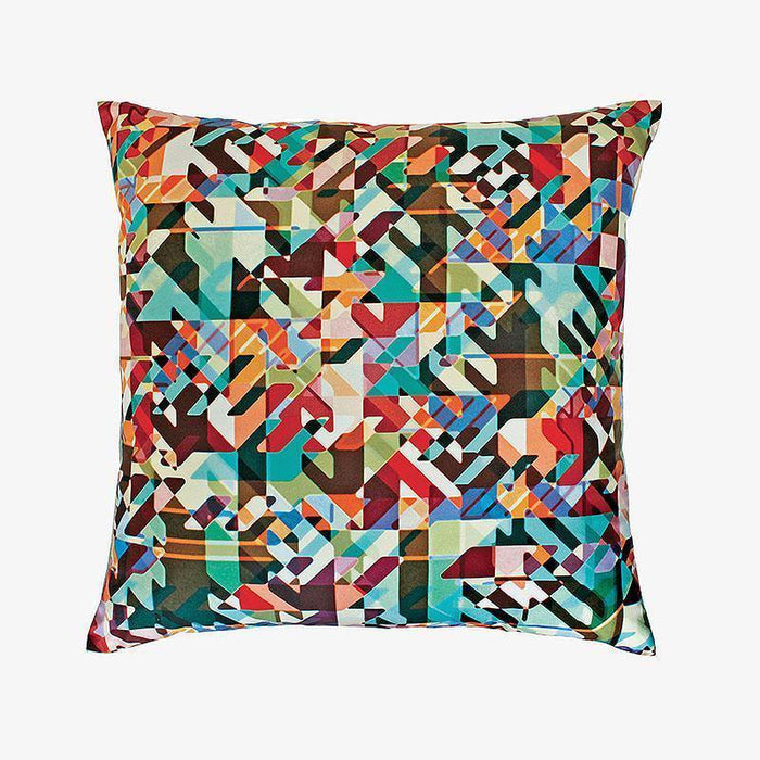 Ana Romero Collection Pillows Kaleidoscope Silk Pillow