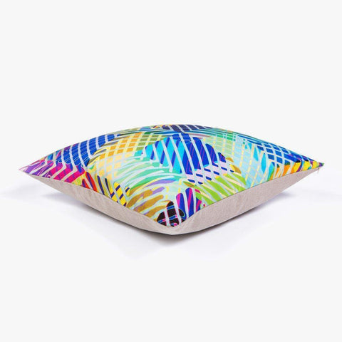 Ana Romero Collection Pillows Neon Jungle Silk Pillow