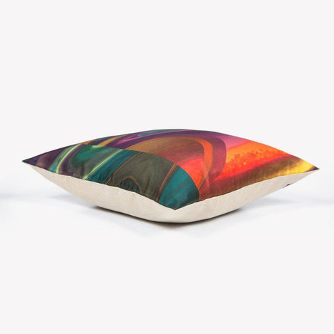 Ana Romero Collection Pillows Optical Marble Silk Pillow